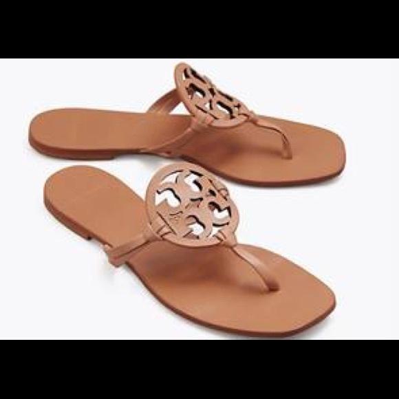 26b7900ea09c4 Tory Burch Miller Square Toe Sandal